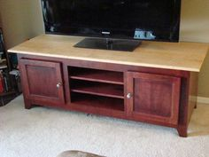 Flat Screen TV Cabinet This woodworkers list of woodworking plans features a collection of home entertainment center cabinets