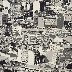 Gerhard Richter, Stadtbild (Townscape) 1969, 70 cm x 70 cm, Catalogue Raisonné: 224-17, Amphibolin on canvas