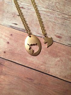 Best Friends Unicorn Necklaces/ BFF Unicorn Necklace Set/