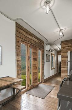 Reclaimed Wood Accents - Freedom by Minimalist Homes