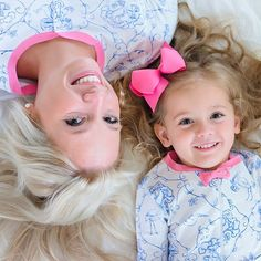 Mommy and daughter pajamas Matching Pajamas, Matching Outfits, Sadie Jane, Beaufort Bonnet Company, Pajama Outfits, Baby Bonnets, Cute Baby Pictures, Family Goals, Sweet Style
