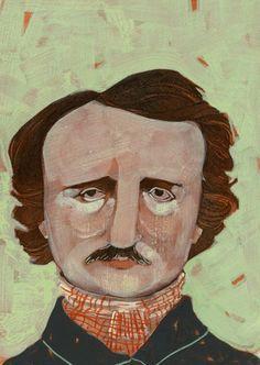 Edgar Allan Poe by Arrolynn