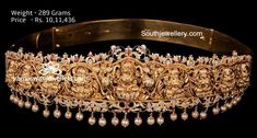 20 Beautiful Vaddanam Designs With Weight and Price photo 1 Gram Gold Jewellery, Gold Jewellery Design, Gold Jewelry, Designer Jewelry, Vanki Designs Jewellery, Vaddanam Designs, Gold Waist Belt, Waist Jewelry, Latest Bridal Mehndi Designs