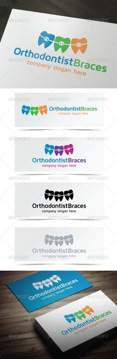 Orthodontist Braces http://graphicriver.net/user/debo243/portfolio