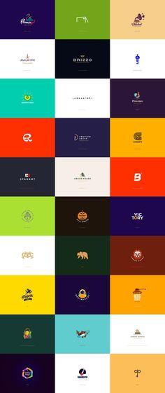 30 logos and marks by Ilya Shapko.
