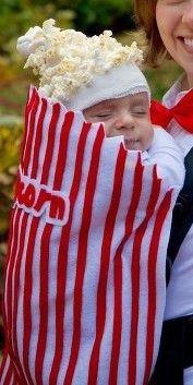Baby Halloween Popcorn costume