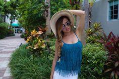 How to wear fringe summer pieces: https://www.amraandelma.com/rockblaze/ #AmraAndElma