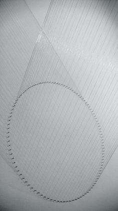 Lygia Pape   Ttéia 1, B (prata-lunar), 2000/12