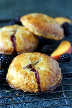 Fresh Blackberry Peach Hand Pie - You'll be amazed at how easy it is to create these impressive hand-held treats!