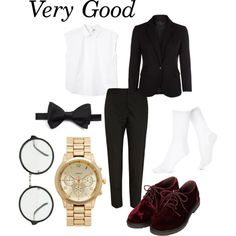 Block B - Very Good by clemerina on Polyvore featuring moda, Monki, Hue, River Island, Topshop, Forever New and Ike Behar