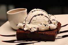 ice cream and cake