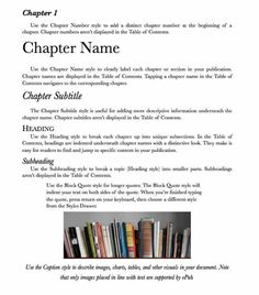 How to produce an ebook with Pages