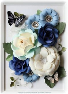 Bricolaje - # flores de papel gigantes - All kinds of beautiful ❤ - Large Paper Flowers, Paper Flower Wall, Crepe Paper Flowers, Paper Flower Backdrop, Giant Paper Flowers, Diy Flowers, Fabric Flowers, Tissue Flowers, Diy And Crafts