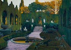 'Like a film set': Gardens of Monforte, 1917 by Santiago Rusiñol.