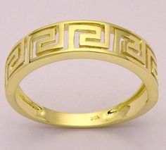 greek key RING pics | Gold Jewelry Suppliers,Gold Jewelry Supplies,Designer Gold Jewelry