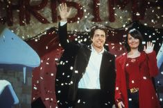 Love is in the air in anticipation for Valentine's Day, and we here at ET are ranking our favorite romance movies of all time. Up first, the 2003 holiday film starring Hugh Grant, Colin Firth, Liam Neeson and Keira Knightley! Love Actually tops the list b Best Romantic Comedies, Romantic Movies, Romantic Images, Best Holiday Movies, Great Movies, Favorite Holiday, Bridget Jones, Liam Neeson, The Nightmare Before Christmas