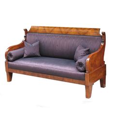 Exemplary Russian Biedermeier Sofa /Settee