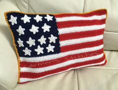 Red White & Blue by Gloria on Etsy