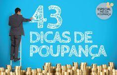 Dicas de poupança: 43 ideias para sobrar dinheiro no final do mês