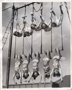 Aerial ballet 1948