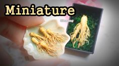 [추석특집] 미니어쳐 인삼 만들기  Miniature * Ginseng