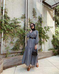 Modest Fashion Hijab, Stylish Hijab, Modern Hijab Fashion, Street Hijab Fashion, Casual Hijab Outfit, Hijab Fashion Inspiration, Abaya Fashion, Muslim Fashion, Modest Outfits