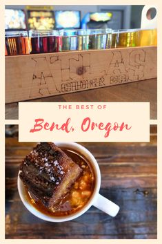 On the Road: Bend, Oregon — Rain or Shine Guides Here are the best places to eat, drink, and activities to do in Bend, Oregon - the Beer Capitol of Oregon! Oregon Road Trip, Bend, Central Oregon, Oregon Travel, Oregon Coast, Oregon Vacation, The Road, Crater Lake, Bangkok Thailand