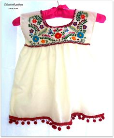 Lolita  mexican embroidered baby dress. $35.00, via Etsy.
