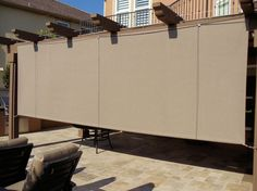 Outdoor Curtains, Drapes And Shades | Superior Awning
