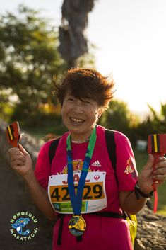 Come and join the fun at Honolulu Marathon this year! here is no time limit and no limit on the number of participants. We wait for the last finisher to cross the line and all finishers get an official finishers shirt and awesome medal. Marathon, Hawaii, Join, Anniversary, Number, Running, Awesome, Shirt, Dress Shirt