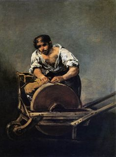 Knife Grinder, Francisco De Goya. Spanish (1746–1828)