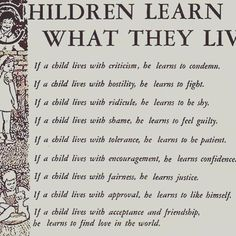 Thought for the day on parenting