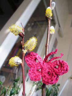 E Strea Chikitu: crochet butterfly pattern