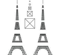 Pen idea from Leo Evo 3d Drawing Pen, 3d Drawings, 3d Templates, Art Template, Torre Effiel, 3d Zeichenstift, Boli 3d, 3d Pen Stencils, Stylo Art