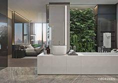 Элитная квартира переворачивает представление о «городских джунглях»