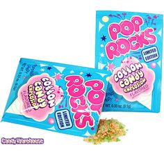 Just found Pop Rocks Candy Packs - Cotton Candy: 24-Piece Box @CandyWarehouse, Thanks for the #CandyAssist!