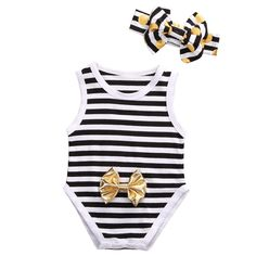 Summer Stripes Romper  Soft and Comfortable Baby & Toddler Clothing!