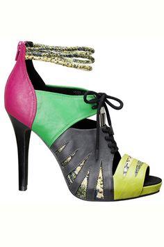 Sandalias altas para el verano