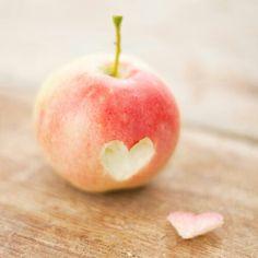 je manger pomme
