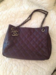 A mauve Chanel bag!!