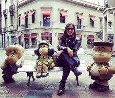 Turminha completa. #mafalda #quino #buenosaires #vacation #ferias #vacaciones by indira_pereira
