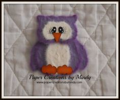 Tear Owl - Purple  $6.50