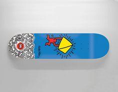 #AlienWorkshop #KeithHaring Omar Salazar #skate #deck #Skateboard