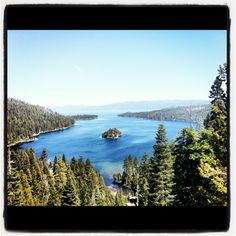 Emerald Bay State Park in South Lake Tahoe, CA
