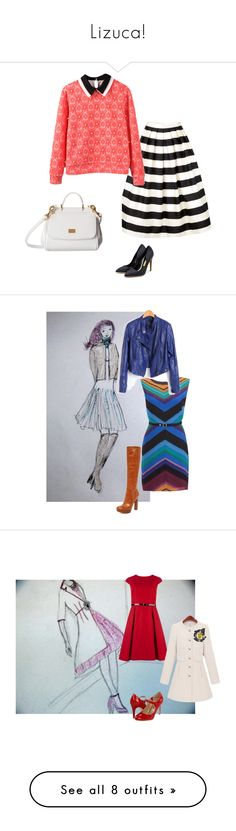"""""""Lizuca!"""" by ralucauca on Polyvore featuring SuperTrash, MICHAEL Michael Kors, outfit, dress, jacket, leather, autumn, boots, Ted Baker and Fitzwell"""