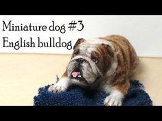 Polymer Clay Tutorial; Miniature Dog #3; English Bulldog - YouTube
