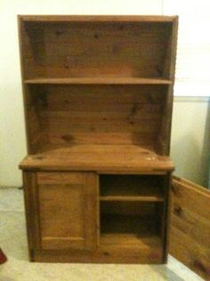 This End Up Cabinet 100 Cary Date 2017 05 14 10 04pm Edt Solid Wood Natural Finish Cash Only Er Responsible For