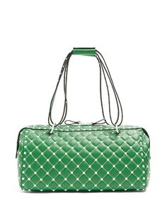 3ed6b29d0013 Valentino Free Rockstud Spike quilted-leather bag Quilted Bag, Quilted  Leather, Leather Bag
