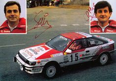 Сarlos Sainz & Luis Moya, Champion's and my favorite.🤩🥰 👇The most interesting rally cars. Cool Car Pictures, Car Pics, Rally Raid, Samurai, Toyota Celica, Hot Cars, Peugeot, Cars And Motorcycles, Vintage Cars