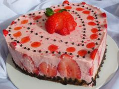 Tarta de fresa y yogurt cocina tradicional Ana Sevilla